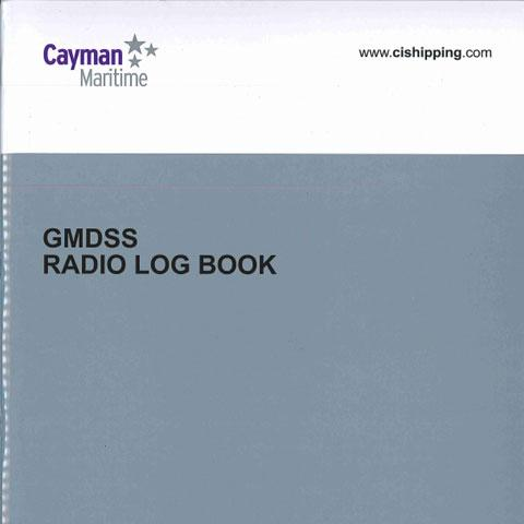 Cover of GMDSS Log Book