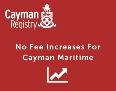 No Fee Increases For Cayman Maritime Thumbnail