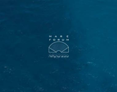 Mare Forum logo over water