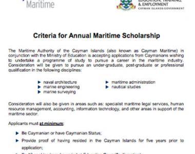 Scholarship criteria thumbnail